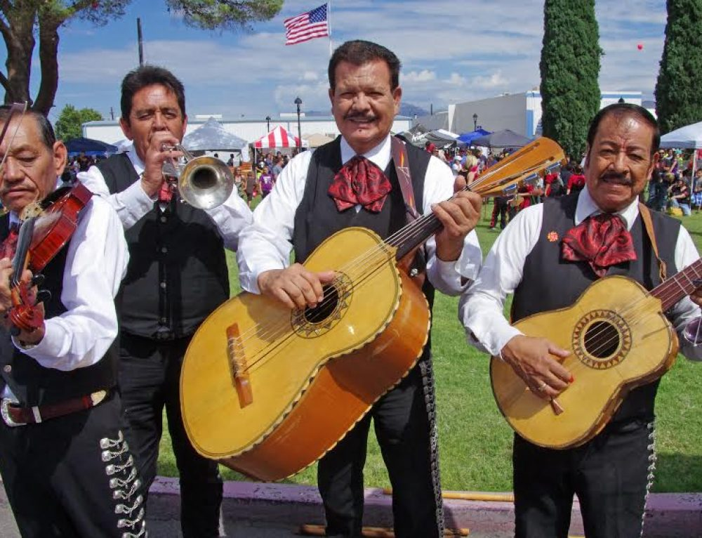 Funeral Processions With Mariachi Band Playing the Music