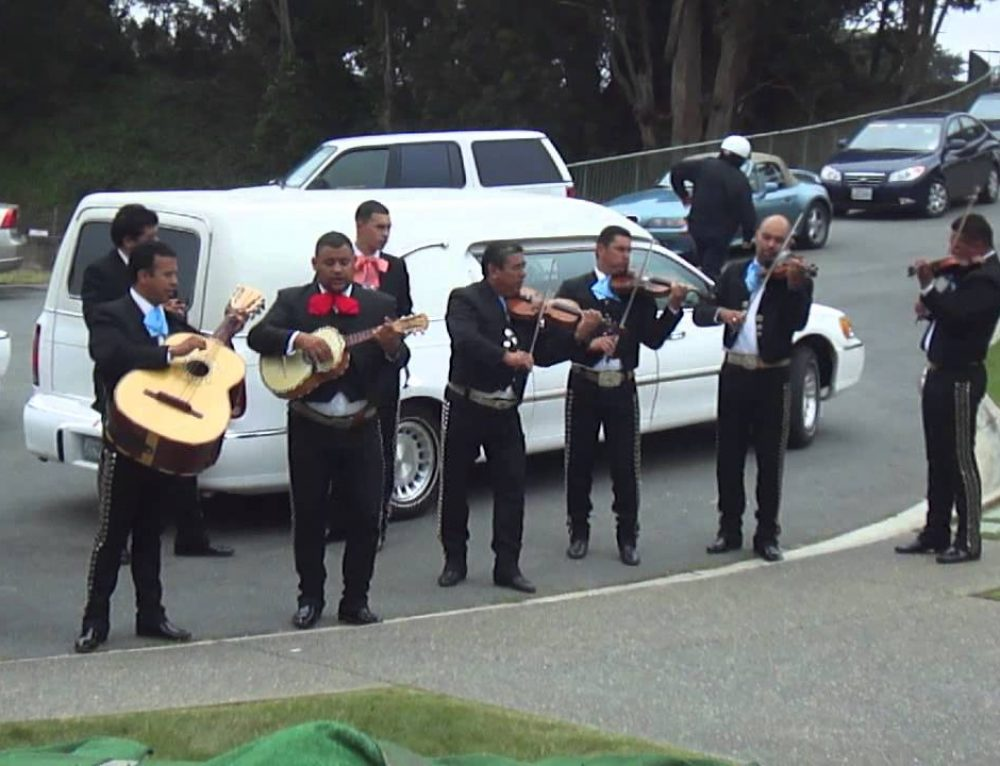 Mariachi Band in A Funeral